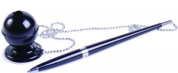 Ручка на цепочке и с креплением на стол.