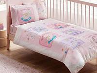 Постельное белье для новорожденных TAC Baby Game pink