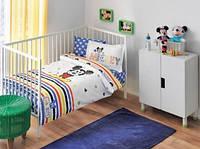 Постельное белье для новорожденных TAC Mickey Sketch Baby голубой