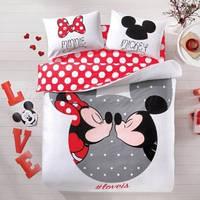 Постельное белье TAC Mickey&Minnie love is