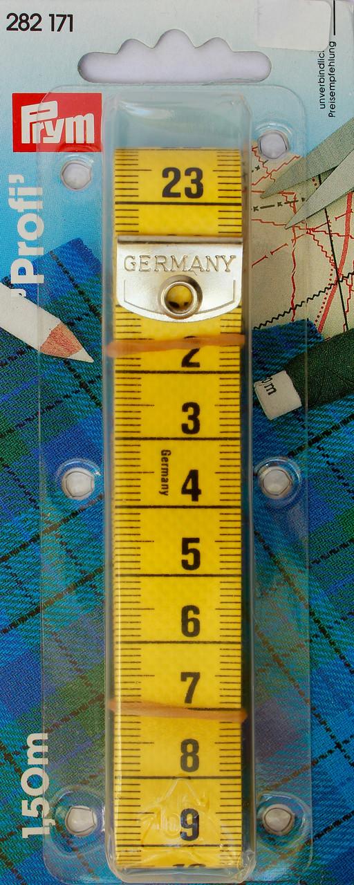 Сантиметр Profi Желтый 150см Очень прочное покрытие