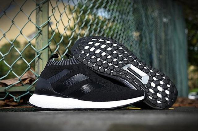 "Кроссовки Adidas Boost Ultra Mid ""Black/White"" спортивная обувь"