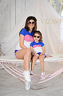 Спортивный костюм детский шорты и майка