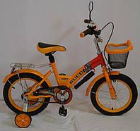 Детский велосипед Rueda GALLOP - 16 дюймов. оранж.