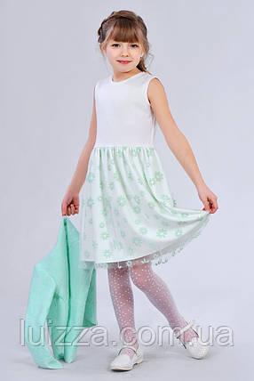 Красивый костюм для девочек с жакетом, фото 2
