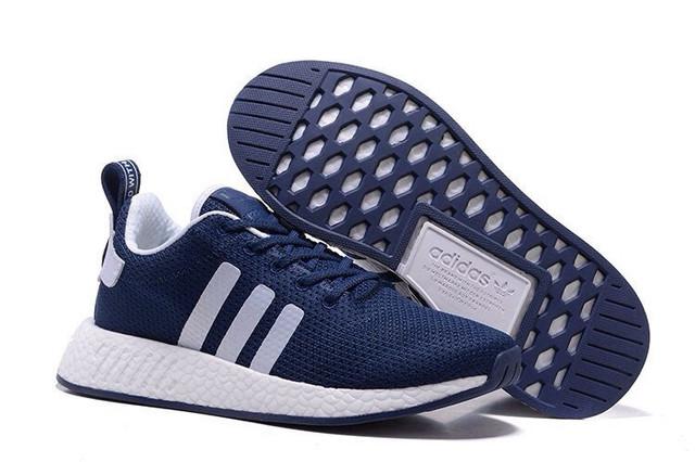 """Кроссовки Adidas NMD City 2 PK """"Navy Blue/White"""" купить в интернет магазине skyked"""