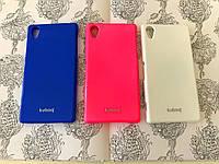 TPU чехол накладка Kuboq для Sony Xperia Z1 / i1 / C6903 (3 цвета) (+ плёнка и салфетка)