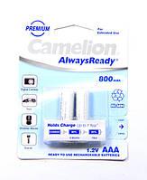 Аккумулятор Camelion AlwaysReady R03 (800 mAh) Ni-MH