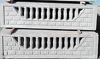 """Еврозабор бетонный. Плита """"Балюстрада"""""""