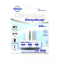 Аккумулятор Camelion AlwaysReady R03 (900 mAh) Ni-MH