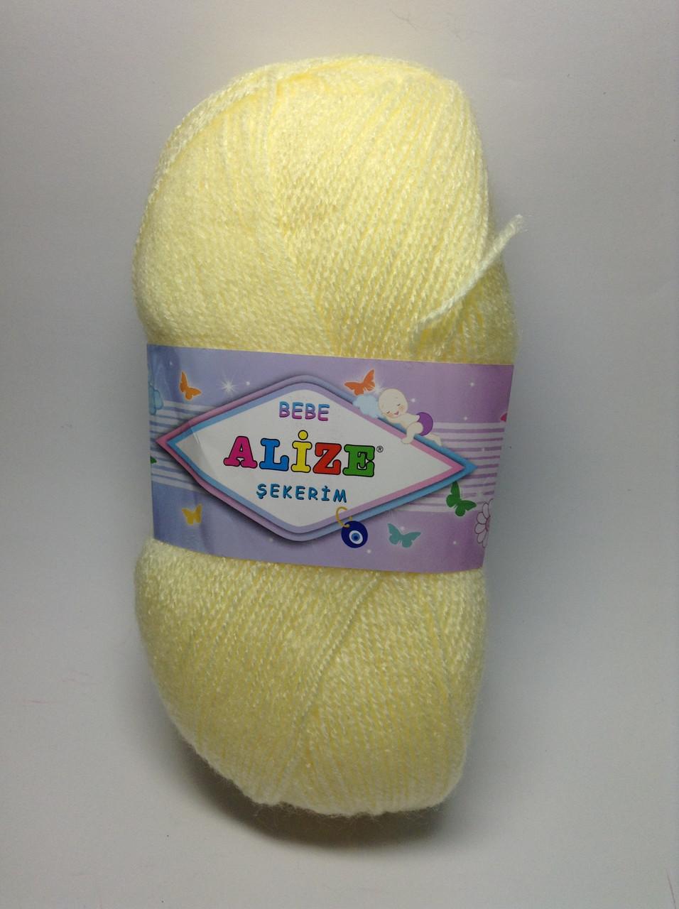 Пряжа sekerim bebe Alize