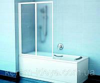 Душевая шторка для ванны Ravak VS2 белый-рейн 796M010041