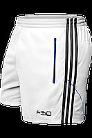 Шорты мужские F50 - 1095B белый-черный-электрик