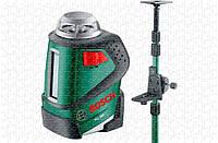 Линейный лазерный нивелир Bosch PLL 360 + ШТАНГА TP320