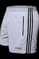 Шорты мужские F50 - 1095G светло-серый-черный