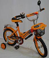Детский велосипед Rueda GALLOP - 14 дюймов (12,16,18) оранж.