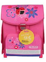Школьный рюкзак Herlitz для девочки. Ранец Херлиц оригинал.