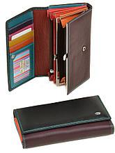 Жіночий гаманець шкіряний dr.Bond Rainbow