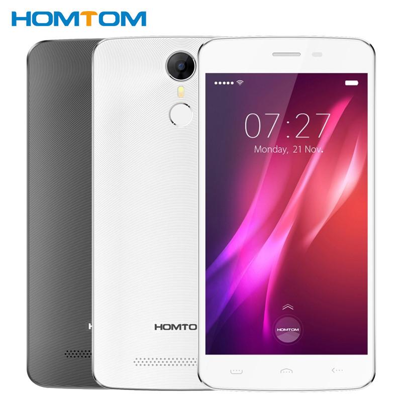 "Смартфон Homtom HT27 Black, 2sim, 5,5"" IPS, 5/2Мп, 1/8Gb, 3000mAh, 3G, 4 ядра, Android 6.0"