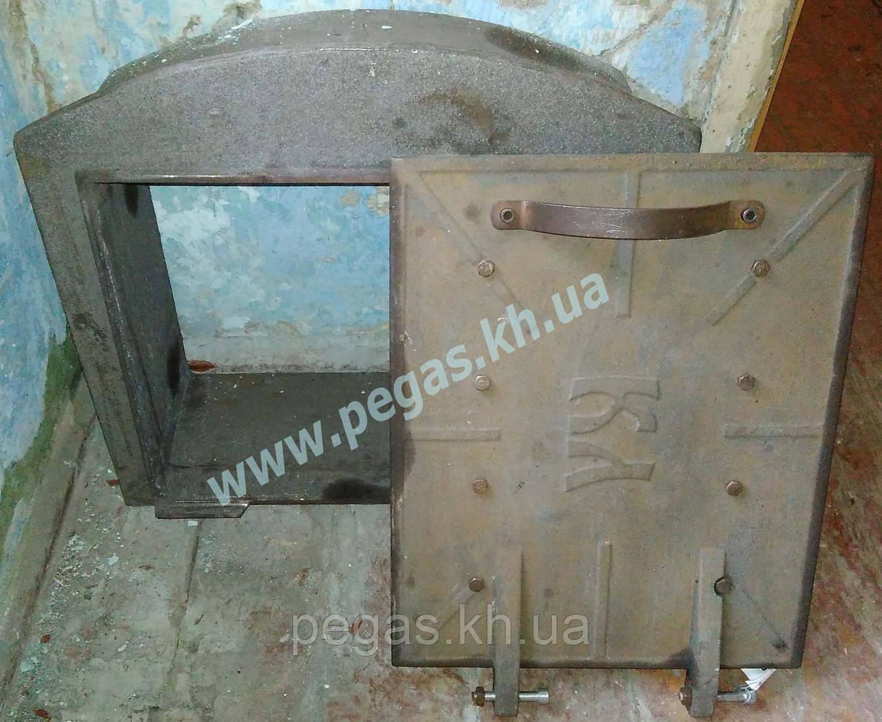 Дверка котла (чугунное литье) 110 кг.