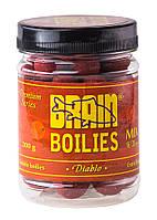 Бойлы Brain Diablo (специи) Soluble 200 gr, mix 16-20 mm