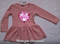 "Платье на девочку ""Сердце"" , WANEX."