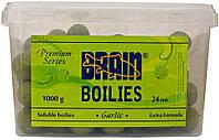 Бойлы Brain Garlic (Чеснок) Soluble 1000 gr, 24 mm