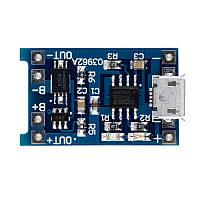 USB micro модуль заряда Li-ION аккумуляторов TP4056