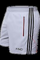 Шорты мужские F50 - 1095C светло-серый-черный-красный