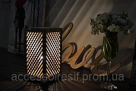 Декоративный ночник из фанеры