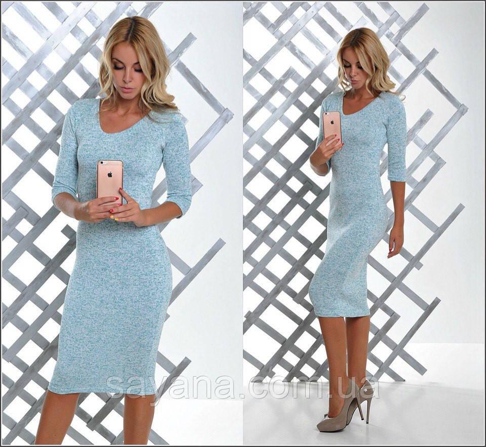 Женское платье в расцветках. Ч-4-0317
