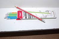 Карандаш графитный с ластиком 9001