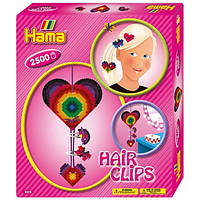 Термомозаика Набор 'Заколки для волос', Hama, фото 1