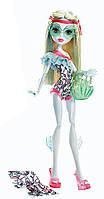 Кукла Монстер Хай Лагуна Блю Пляжная серия Monster High Beach Beasties Lagoona Blue