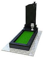 """Памятник из гранита на могилу с вазой """"Вечность"""""""