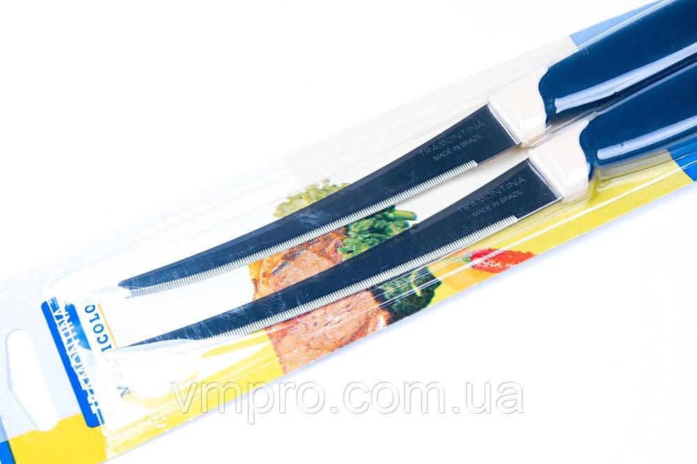 """Нож томатный """"Tramontina"""" 512/215(Оригинал),ножи кухонные,23 см,деревянная ручка"""