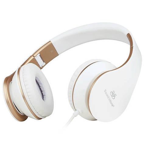 Навушники складні Sound Intone I65 Super Bass White, фото 2
