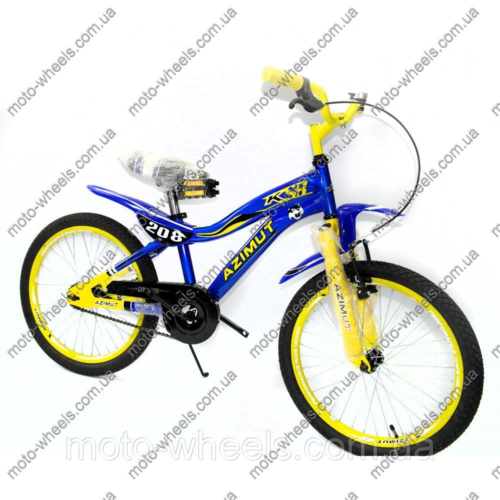 """Детский велосипед Azimut KSR 20'' - интернет магазин """"motowheels"""" в Харькове"""