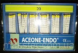 Штифты бумажные Aceone-Endo 0,6 № 20