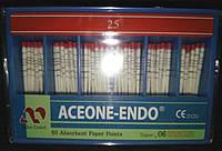 Штифты бумажные Aceone-Endo 0,6 № 25