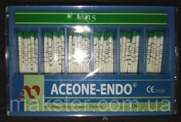 Штифты бумажные Aceone-Endo 0,6 № 35, фото 2