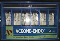 Штифты бумажные Aceone-Endo 0,6 № 40