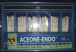 Штифты бумажные Aceone-Endo 0,4 № 40
