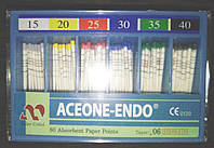 Штифты бумажные Aceone-Endo 0,6 №15-40