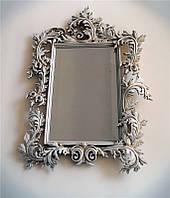 Резная рама из дерева, для зеркала.