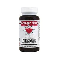 Kroeger Herb Co, Экстракт полыни, 100 капсул, The Original Wormwood Combination