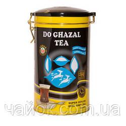Чай чёрный Akbar Do Ghazal tea Ceylon 500 г  Бергамот жестяная банка