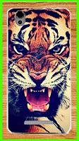 Силиконовый чехол с рисунком тигра для Blackview a8