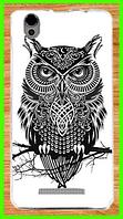 Силиконовый чехол с рисунком совы для Blackview a8