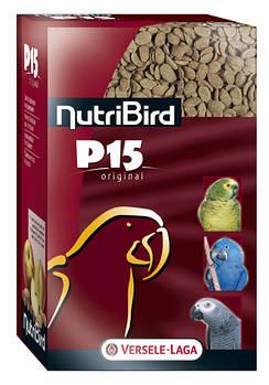 Корм Versele-Laga NutriBird P15 ЕЖЕДНЕВНЫЙ с орехами для попугаев, 1 кг